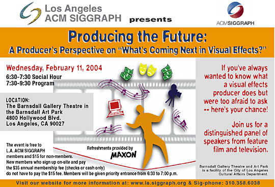 Producing the Future: A Producer's Perspective postcard