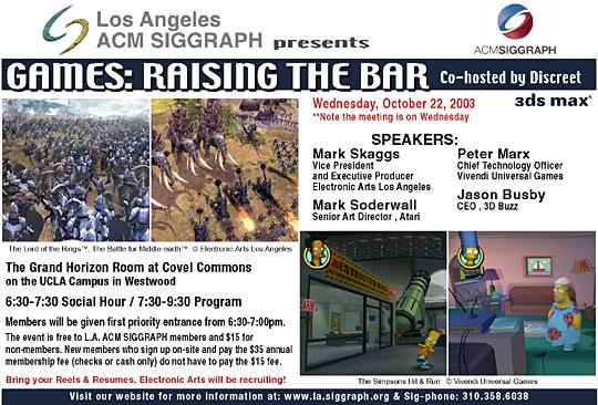Games: Raising the Bar postcard